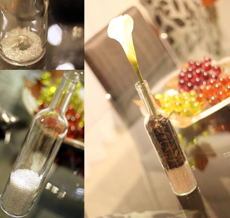 decor-diy-vaso-de-decoracao-vaso-copo-de-leite-decor-com-garrafa-de-champagne-flor-na-garrafa-flor-com-pedregulhos-flor-com-madeira2