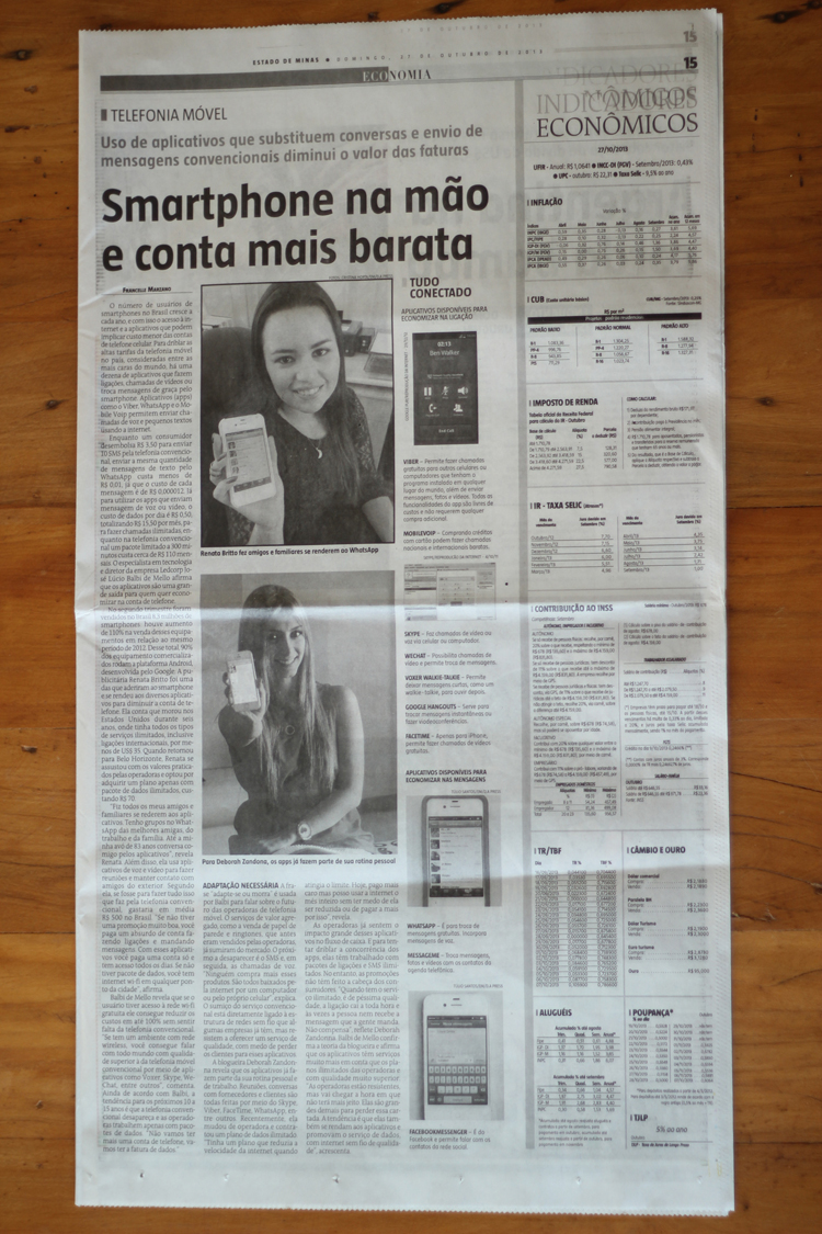 jornal estado d eminas apps iphone whatsapp skype (27-10)