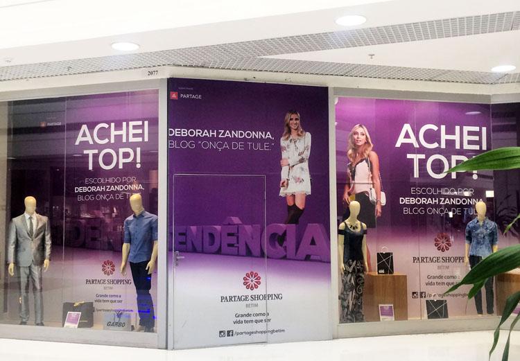 vitrine-deborah-zandonna-embaixadora-shopping-partage-fashion-betim